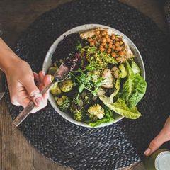 Bone Building Quinoa Salad with Tahini Dressing
